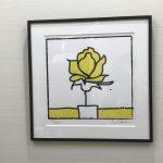 診療室に絵画を飾りました